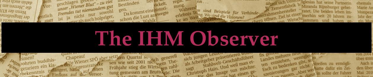 The IHM Observer